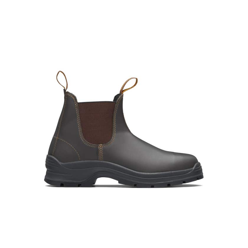 Blundstone 405 Waxy Leather Elastic Side Non-Safety Boot Brown