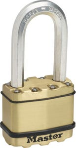 Master Lock Excell Padlock Long Shackle 50mm