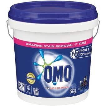 OMO Laundry Powder Front/Top Loader 8kg