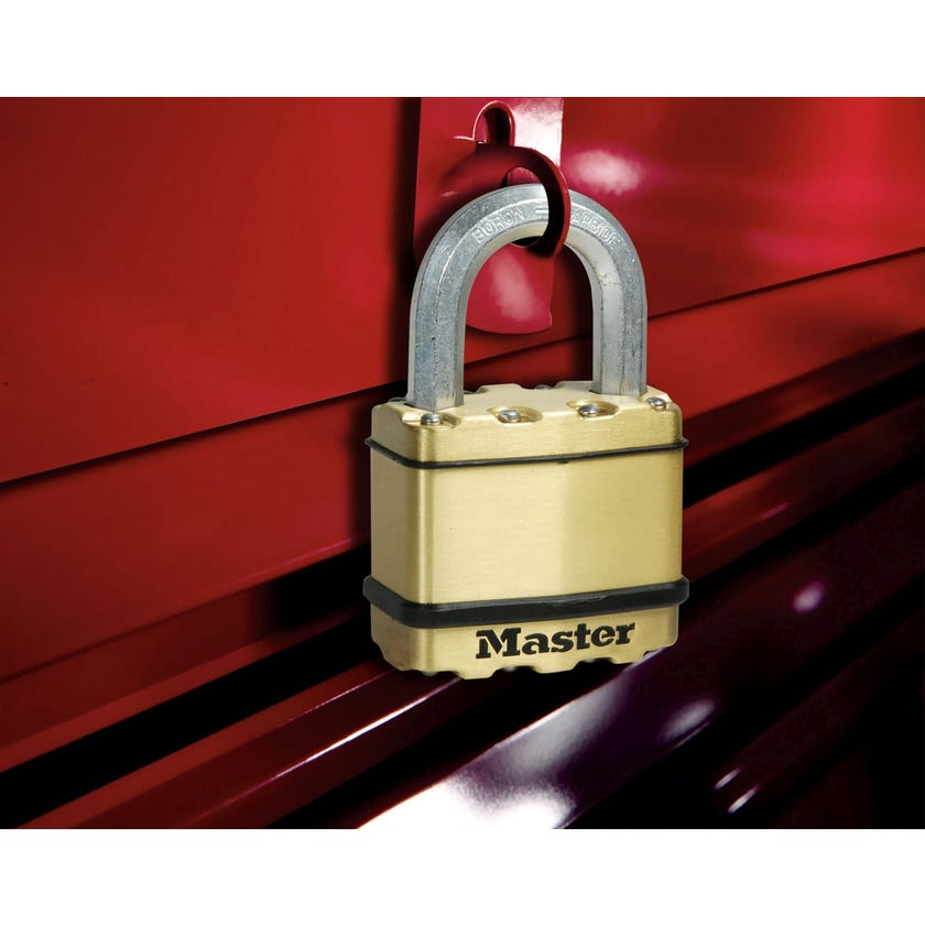 Master Lock Excell Padlock 45mm 4 Pack