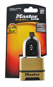 Master Lock Excell Combination Padlock 38mm
