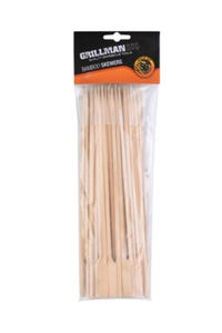 Grillman Bamboo Skewers with Handle 50 Pack