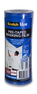 Scotch Pretaped Masking Film 2.7m x 17m