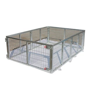 Hardcase Galvanised Trailer Cage 7 x 4ft