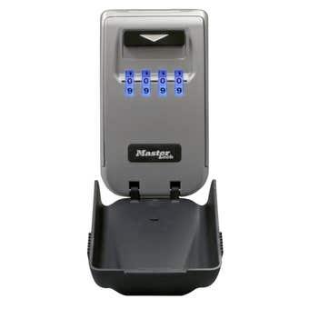 Master Lock Light Up Dial Wall Mount Key Safe