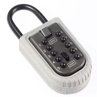 Master Lock Mini Key Safe with Portable Push Button