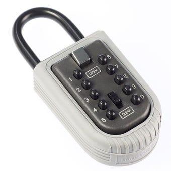 Mini Key Safe Portable Push Button