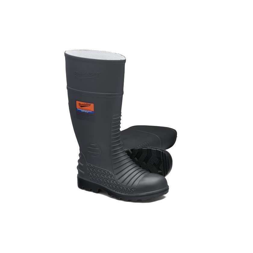 Blundstone 024 Waterproof Penetration-Resistant Safety Gumboot Grey