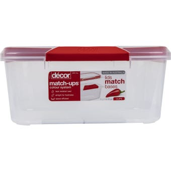 Décor Match-ups Oblong Container 7L