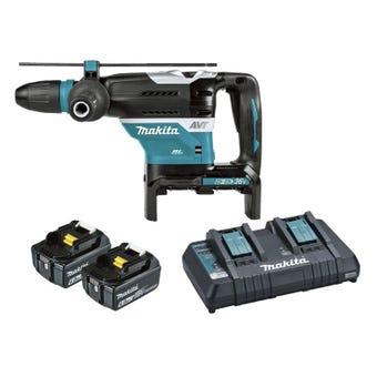 Makita 36V (18V x 2) Brushless SDS Max Rotary Hammer Kit 40mm DHR400PG2