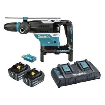 Makita 36V (18V x 2) Brushless AWS SDS Max Rotary Hammer Kit 40mm DHR400PG2U