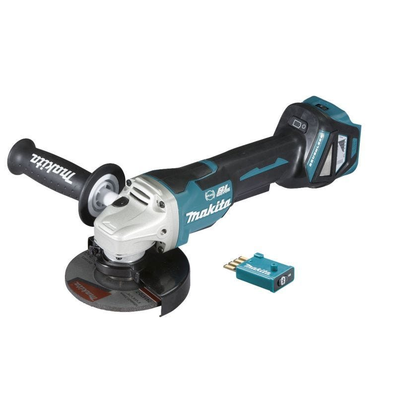 "Makita 18V Brushless Angle Grinder Skin 125mm (5"") DGA518ZU"