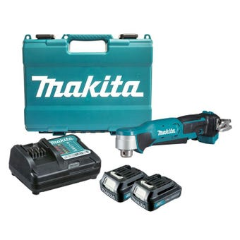 Makita 12V Max Angle Drill Kit 10mm DA332DWYE