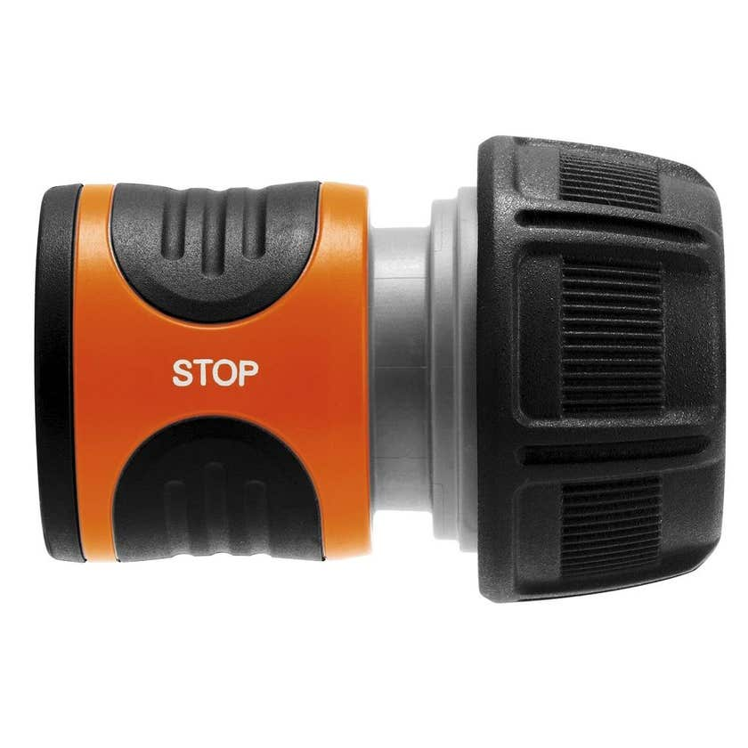 GARDENA Hose Connector With Stop Valve 19mm