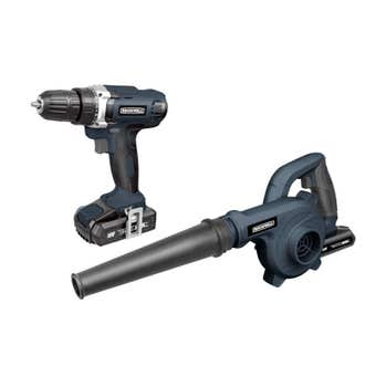 Rockwell 18V Drill Driver Kit With Bonus Blower RD1867