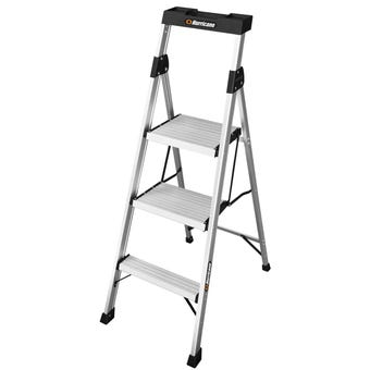Hurricane™ 3 Step Dual Platform Ladder 120kg Domestic