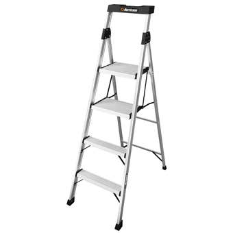 Hurricane™ 4 Step Dual Platform Ladder 120kg Domestic
