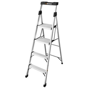Hurricane™ 4 Step Dual Platform Ladder 120kg Domestic