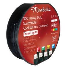 Mirabella Christmas Fairy Light LED Dual Colour 300 Pack