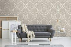Boutique Vogue Taupe Wallpaper 10x0.52m