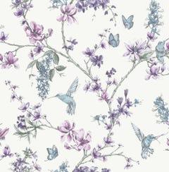 Superfresco Easy Simplicity Pearl Lilac Wallpaper 10x0.52m