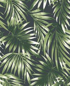 Superfresco Easy Elegant Leaves Green Wallpaper 10x0.52m