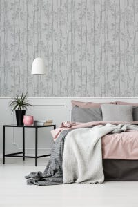 Superfresco Easy Branches Grey Wallpaper 10x0.52m
