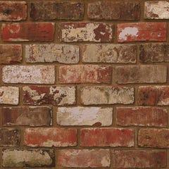 Superfresco Easy Red Brick Wallpaper 10x0.52m
