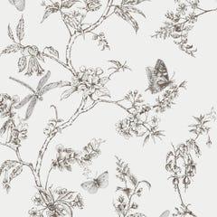 Superfresco Easy Nature Trail White Mica Wallpaper 10x0.52m