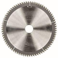 DeWalt Extreme Workshop Circular Saw Blade 80T TCG 216mm