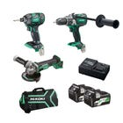 HiKOKI 18V MV 3 Piece Brushless Combo Kit KC18DDBL(HRZ)