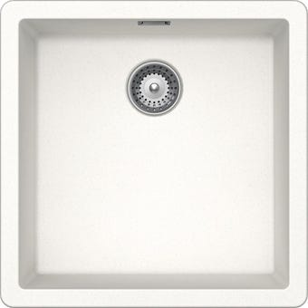 Hafele Quartz Single Bowl Sink 32l White
