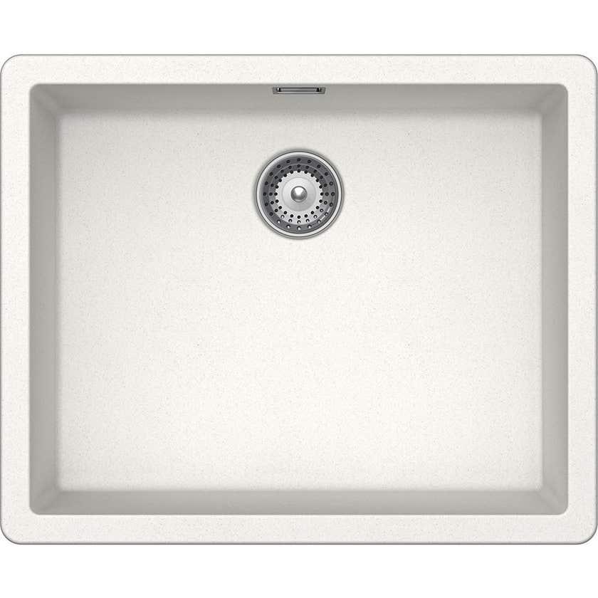 Hafele Quartz Laundry Single Bow Sink 40l White