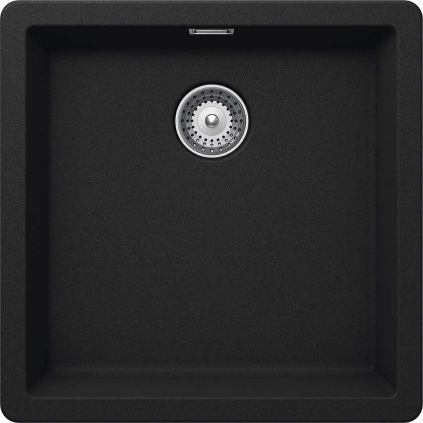 Hafele Quartz Single Bowl Sink 32l Black