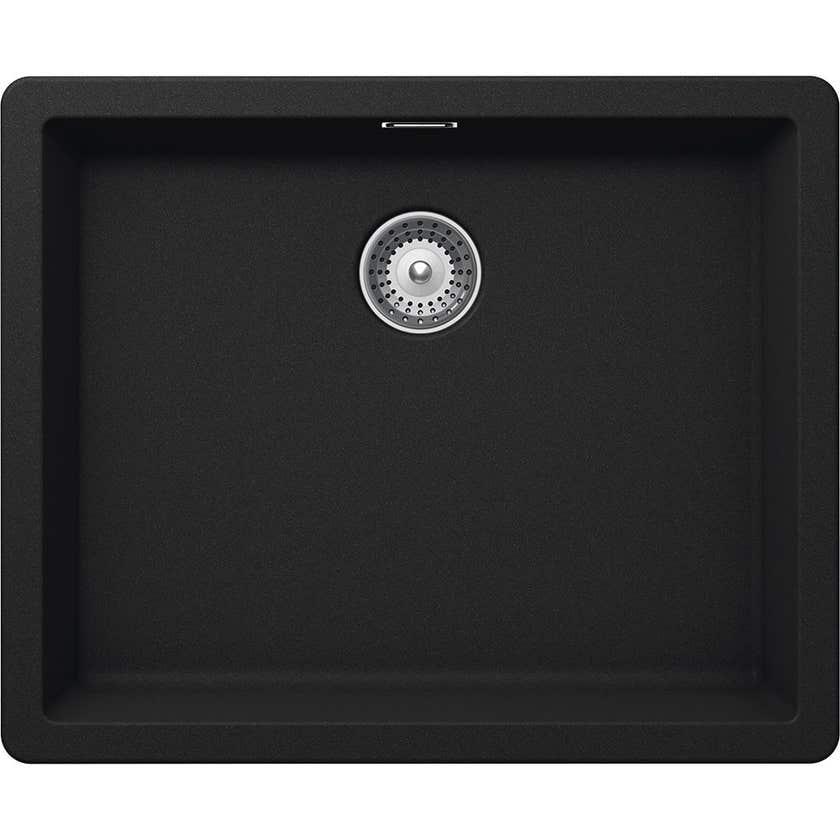 Hafele Quartz Laundry Single Bow Sink 40l Black