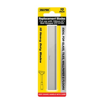 Uni-Pro Wall Stripper Blades 100mm - 10 Pack