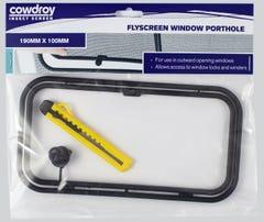 Cowdroy Flyscreen Porthole 190 x 100mm