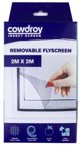 Cowdroy Removable Flyscreen 2 x 2m