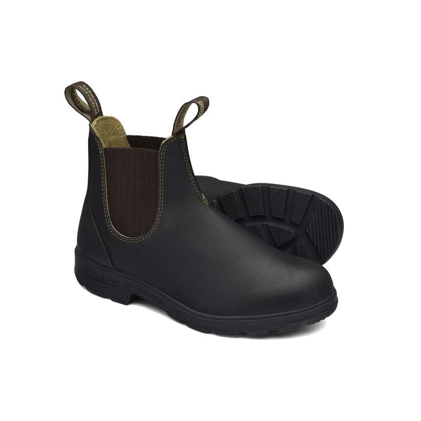 Blundstone 600 Premium Leather Elastic Side Non-Safety Boot Brown