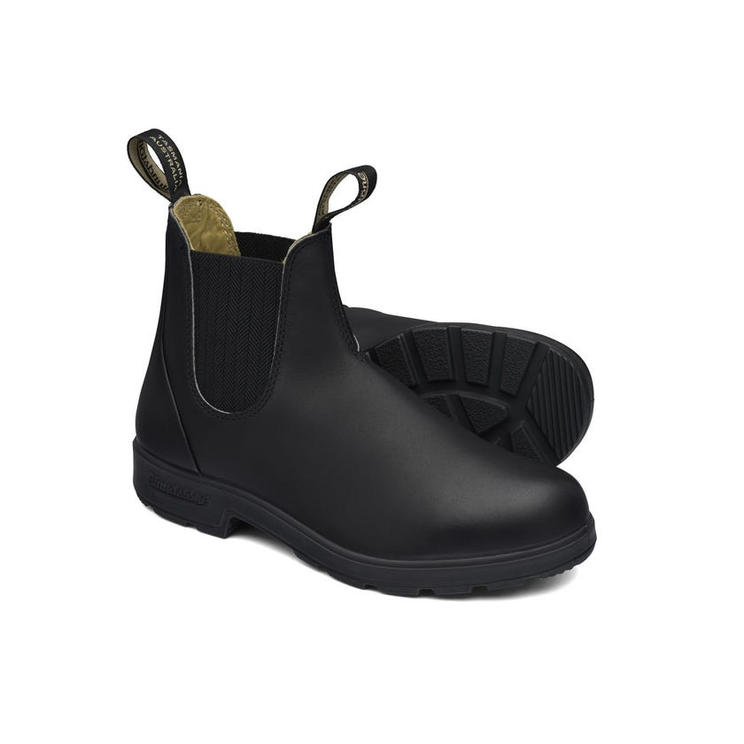 Blundstone Premium Leather Elastic Side Non-Safety Boot Black 610
