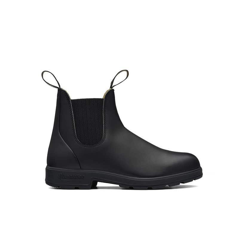 Blundstone 610 Premium Leather Elastic Side Non-Safety Boot Black