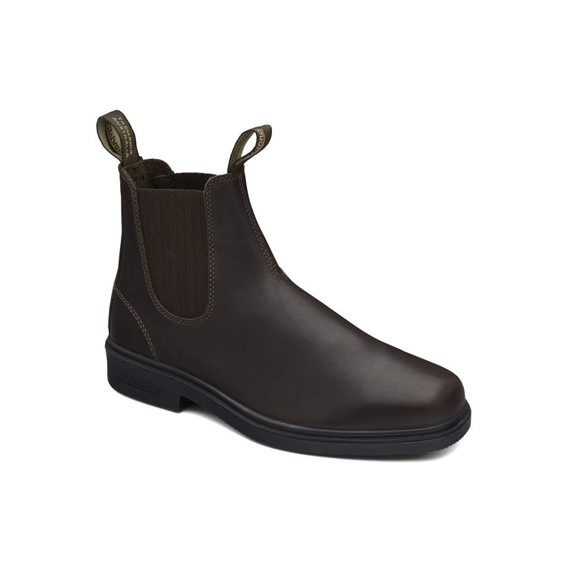 Blundstone Premium Leather Elastic Side Non-Safety Dress Boot Brown 659 Size 10
