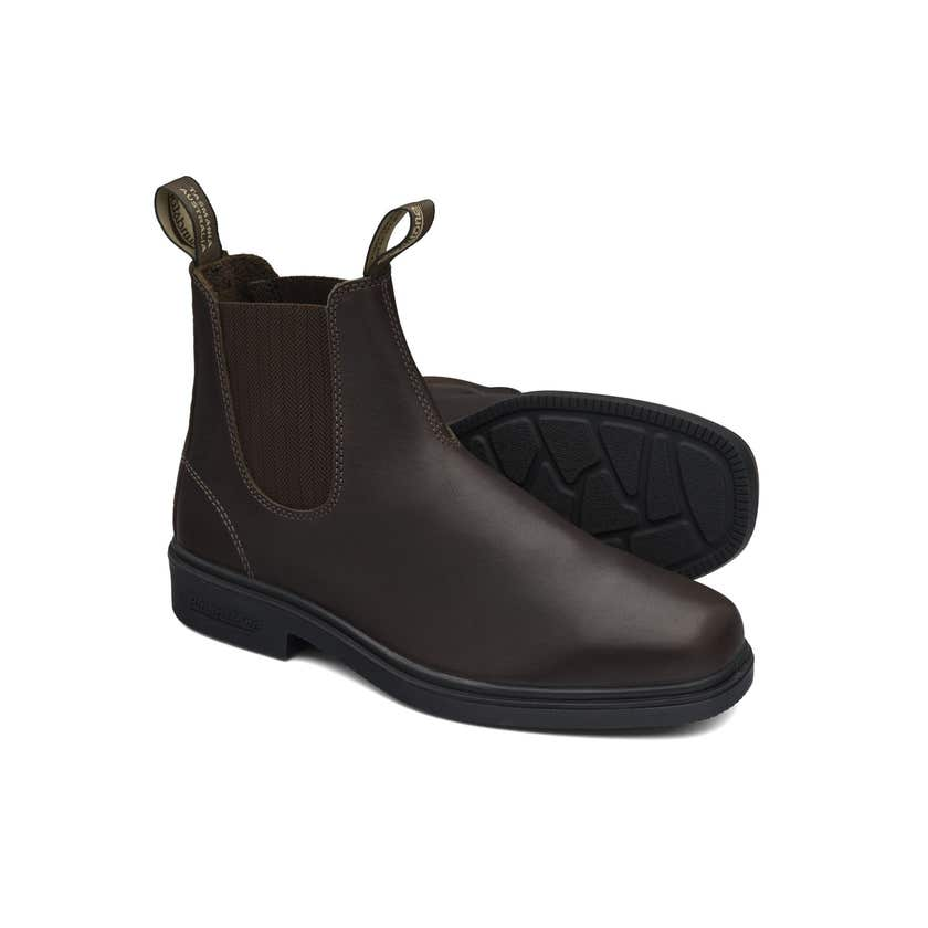 Blundstone 659 Premium Leather Elastic Side Non-Safety Dress Boot Brown