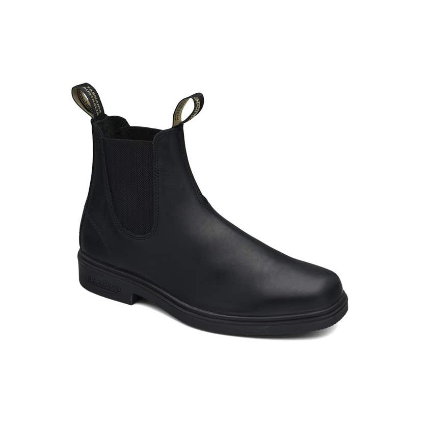 Blundstone 663 Premium Leather Elastic Side Non-Safety Dress Boot Black