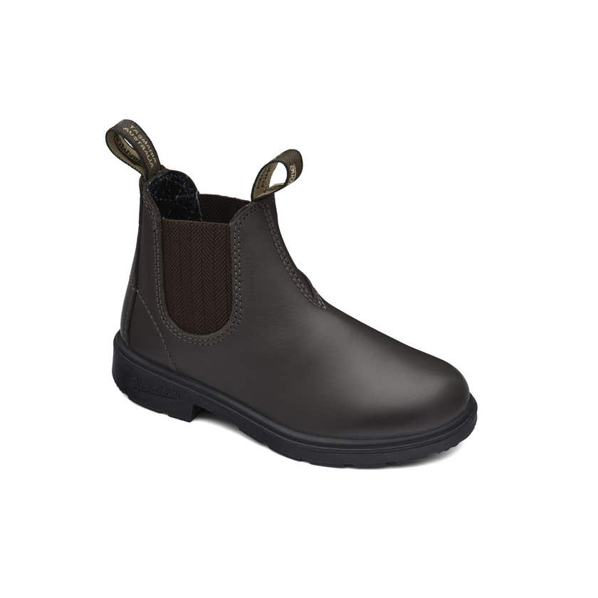 Blundstone 630 Kids Leather Elastic Side Non-Safety Boot Brown