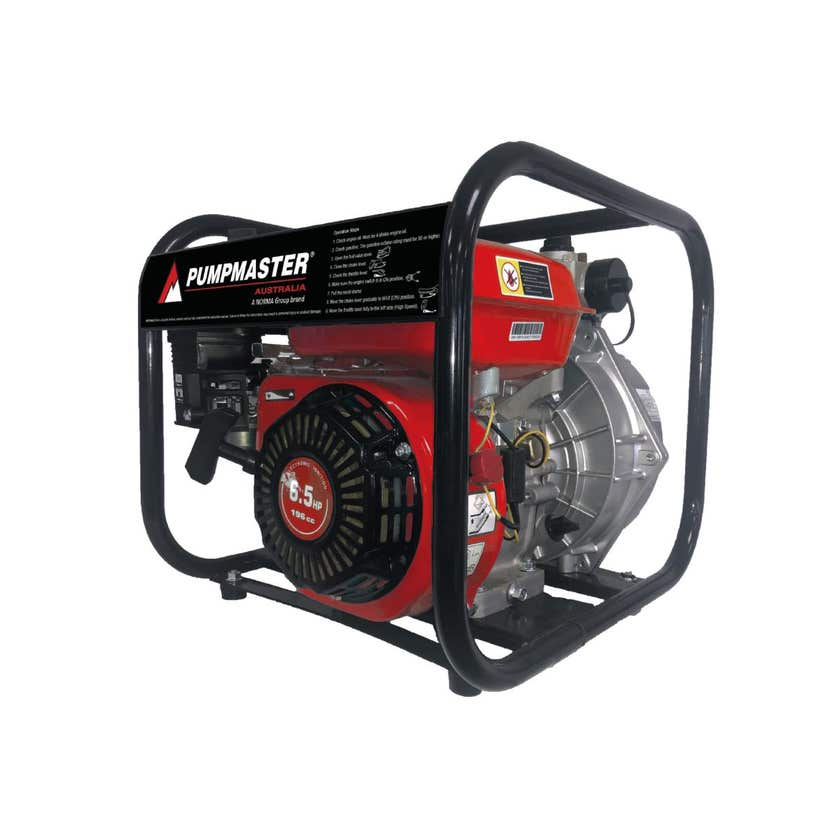 Pumpmaster Engine Drive Fire Pump 4 Stroke
