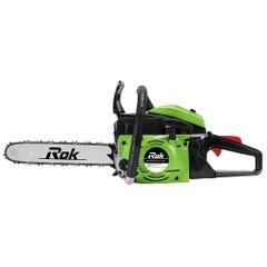 ROK 45cc Petrol Chainsaw 355MM Green/Black