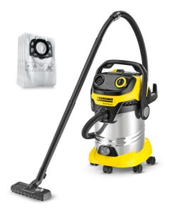 Karcher WD5 Premium Multipurpose Wet Dry Vac + Bonus Fleece Kit