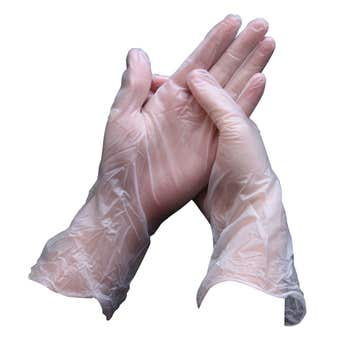 Sabco Vinyl Disposable Gloves  - 100 Pack