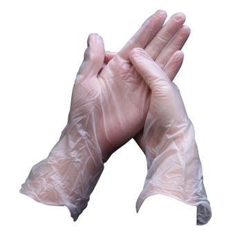 Sabco Vinyl Disposable Gloves  - 100 Pack
